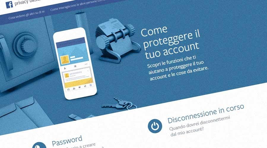 guida di protezione account facebook
