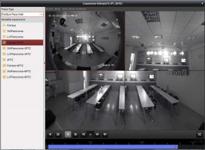 telecamera panoramica in 4 viste ptz