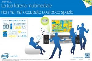 Mini PC Intel NUC per il multimedia