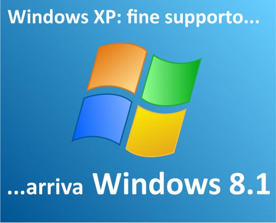 windows xp addio