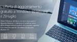 L'aggiornamento gratuito a Windows 10 scade a fine Luglio
